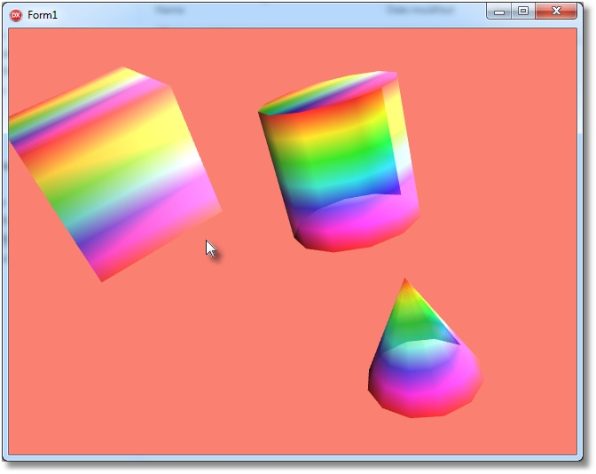 3D Color Example